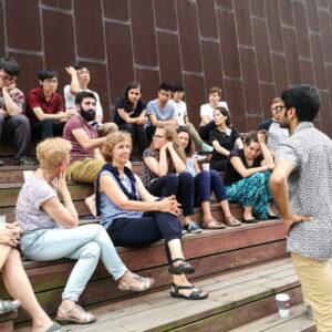EPRIE 2017: Diskussion mit Mohamed Amjahid