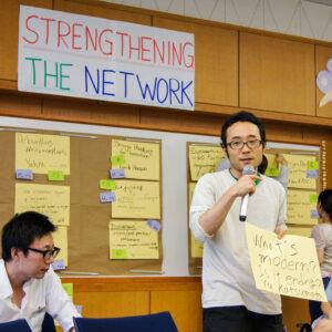 EPRIE 2017: Ein Alumnus stellt sein Anliegen vor