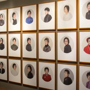 Porträts in der Ausstellung Women Who Transcended Boundaries