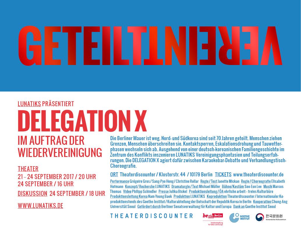 Vereint / Geteilt - Dialog über Wiedervereinigung in Deutschland + ...