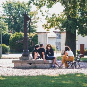 In Kreisau lernten sich die Teilnehmenden kennen.