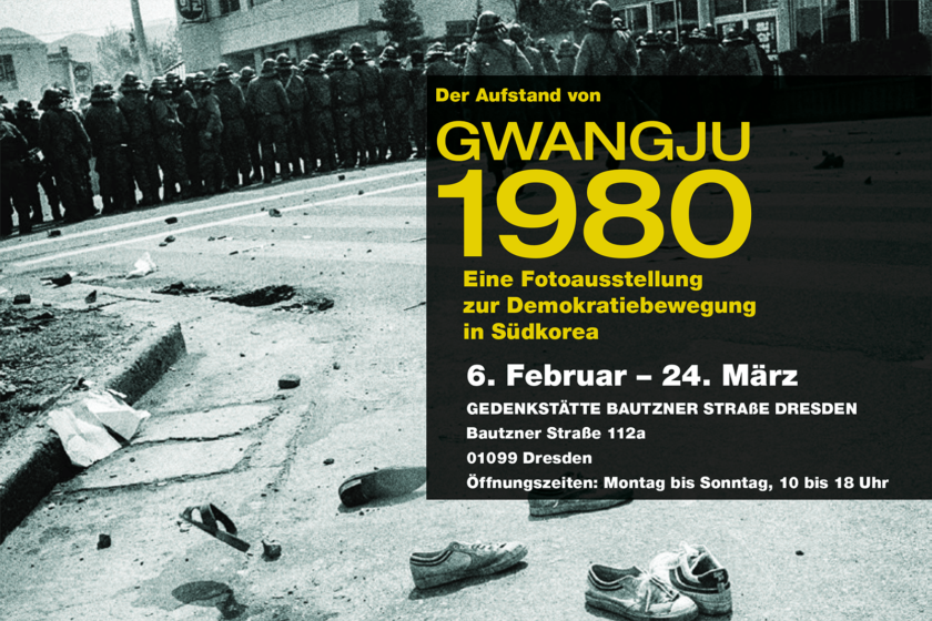 Gwangju 1980 Dresden