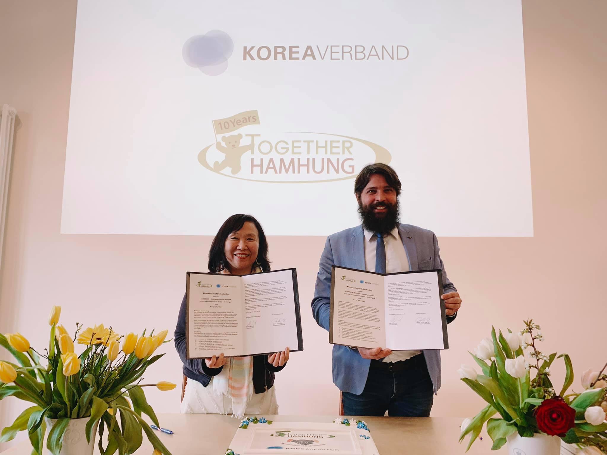 Unterzeichnung Memorandum of Understanding