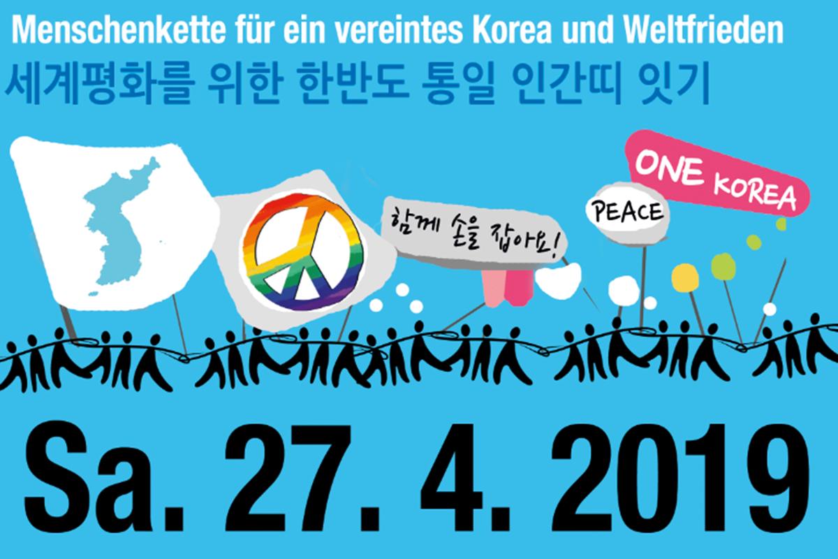 Menschenkette des Friedens