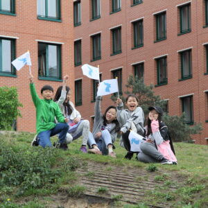 Menschenkette für ein vereintes Korea